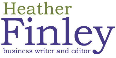 Heather Finley :: Business Writer & Editor Retina Logo